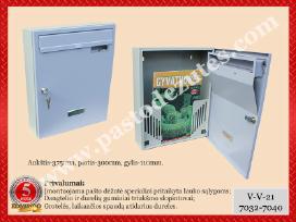 Pašto dėžutė lauko vidaus sąlygomis