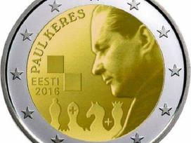 2 Eurų moneta, Estija Paul Keres