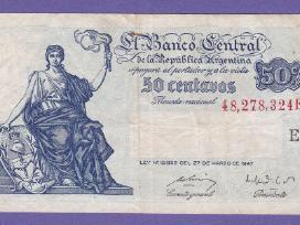 Argentina 1948 kupiura 50centavos N100+*