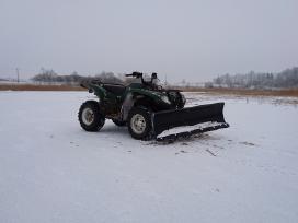 Sniego peilis keturračiui , stumdytuvas buldozeris