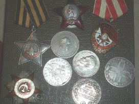 Perku sidabrinius rublius ir kapeikas
