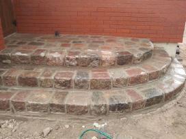 Statybos darbai(akmens mūro darbai)