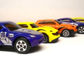 Maži automobiliukai - 6 vnt