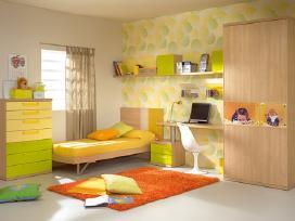 Individualūs baldai vaikų kambariui už mažą kainą