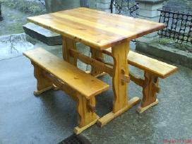Istraukiamas pietu stalas,medinis stalas s