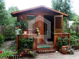Mediniai namai, nameliai, pirtys, garažai