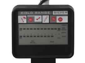 Metalo Detektorius su LCD Ekranu ir 20 cm Paieškos