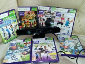 Xbox 360 originalūs žaidimai Xbox360 pultai kinect