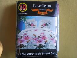 5D,nana textile,100% medvilne,patalynes komplektas