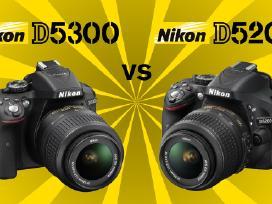 Nikon fotoaparatas, objektyvas, Velbon trikojis - nuotraukos Nr. 4