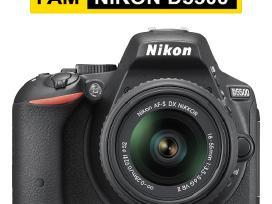 Nikon fotoaparatas, objektyvas, Velbon trikojis - nuotraukos Nr. 5