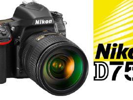 Nikon fotoaparatas, objektyvas, Velbon trikojis - nuotraukos Nr. 6