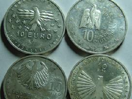 Sidabrines 10e monetos