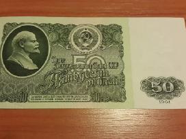 50 rublių 1961 m. Xf ir Unc