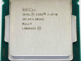 Stacionarių Cpu intel core i5, i7 socket 1150