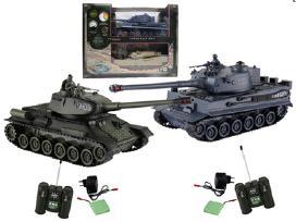 Tiger ir Abroms tankai su nuotoliniu pultu Akcija!