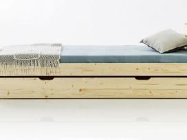 Tvirta kokybiška lova iš natūralaus medžio - nuotraukos Nr. 2