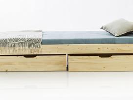 Tvirta kokybiška lova iš natūralaus medžio - nuotraukos Nr. 3