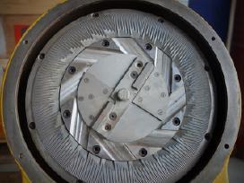 Naudoti daniški diskiniai grūdų malūnai