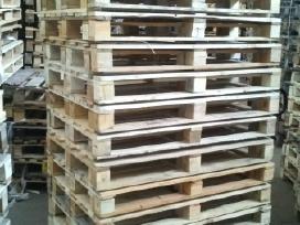 Naudoti mediniai padeklai pardavimas supirkimas - nuotraukos Nr. 2