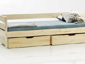 Stipri ir tvirta lova iš natūralaus medžio