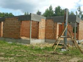 Mūro darbai. Betonuotojai