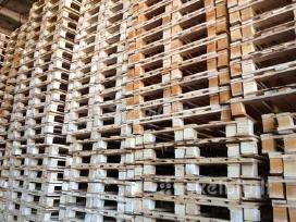 Naudoti mediniai padėklai, Eur padėklai, paletės