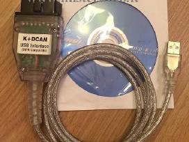 Bmw Inpa diagnostikos laidas kabelis K+dcan kaina