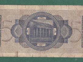 Vokietija 1940m. banknota 5 reichsmark N126+*