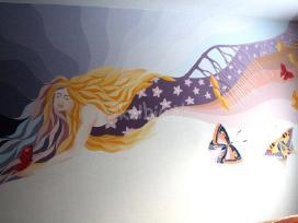 Apdaila, sieninė, tapyba, dekoras, dizainas. - nuotraukos Nr. 3