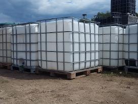 Ibc konteineriai, statinės, Bigbag maišai.