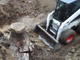 Didelio bobcat s250h nuoma