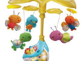 Naujos Fisher Price, Tiny Love, Vtech karuselės