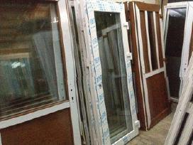 Lauko plastikines Durys nuo100eur+langai