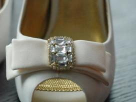 Nauji balti bateliai - vestuvėms ar kitai progai