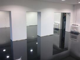 Poliuretaninės grindys, įrengimas - nuotraukos Nr. 5