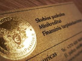 Visoje Lietuvoje/ Mažos palūkanos/ Palankios sąlyg