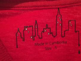 Raudoni marškinėliai berniukui - nuotraukos Nr. 2