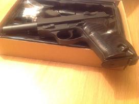 Walther P38 metalinis šratinis pistoletas 1:1