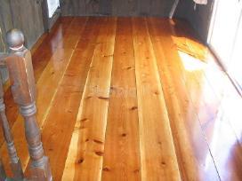 Mediniu grindu slifavimas - nuotraukos Nr. 2