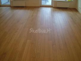 Mediniu grindu slifavimas - nuotraukos Nr. 3