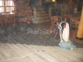 Mediniu grindu slifavimas - nuotraukos Nr. 4