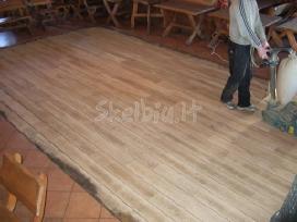 Mediniu grindu slifavimas - nuotraukos Nr. 5