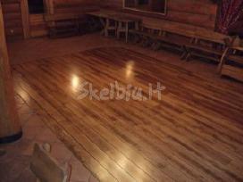 Mediniu grindu slifavimas - nuotraukos Nr. 6