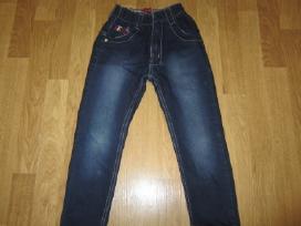 Siauri džinsai 110-122 cm. (4-6 m.)