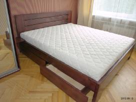 Parduodu medienos masyvo lova. - nuotraukos Nr. 4