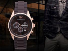 Aukštos kokybes Armani laikrodis Ar5905 ir kiti.