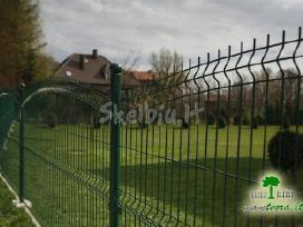Segmentinės naujo tipo tvoros, vartai, montavimas - nuotraukos Nr. 3