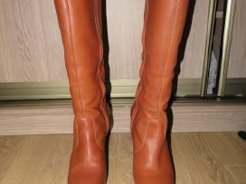 Diesel ilgaauliai aukštakulniai odiniai batai