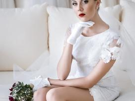Išskirtinė, originali vestuvinė suknelė